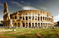 Visiting The Colosseum, Rome, Home of Roman Gladiators…