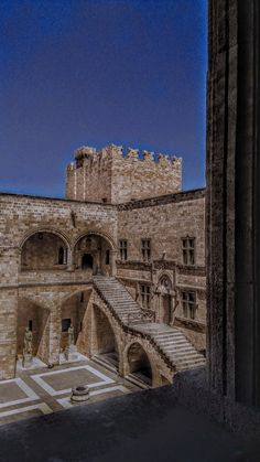 Παλάτι του Μεγάλου Μαγίστρου.
