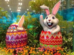 Easter Decor @T3 Changi Airport