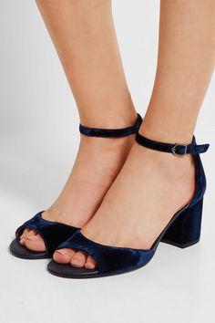 Sam Edelman Velvet Shoes Net-a-Porter Exclusive Shop
