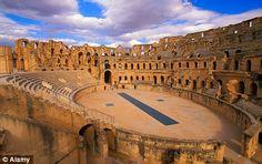 Anfiteatro de El Jem, Tunísia