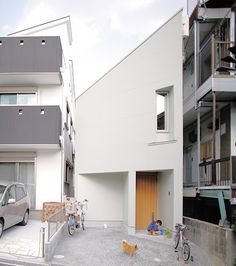 This 13-foot-wide house was built in a residential neighborhood of Kobe, Japan, and features lots of clever and unexpected details.