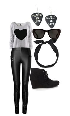"""""""swag"""" by legendaryzaria ❤ liked on Polyvore featuring Joseph, yunotme and Forever 21"""