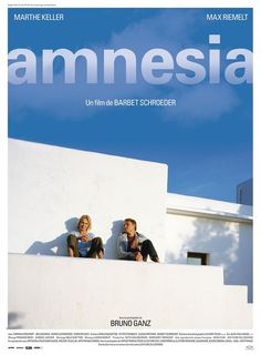 Amnesia by Barbet Schroeder.  Poster. Special Screenings.