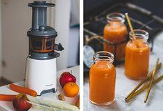 Appel-wortelsap met gember - een natuurlijk energiedrankje! Fire Extinguisher, Detox, Health, Food, Yogurt, Lemonade, Health Care, Essen, Eten