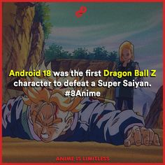 Android 18 the first to defeat a super saiyan