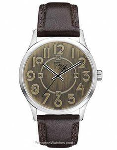Bulova Frank Lloyd Wright Exhibition Strap Watch with Bronze-Tone Dial
