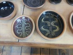 Oval dishes.  Winchcombe Pottery 2014.