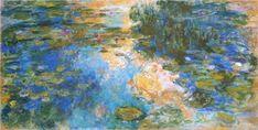 モネ 「睡蓮の池」 1917-19