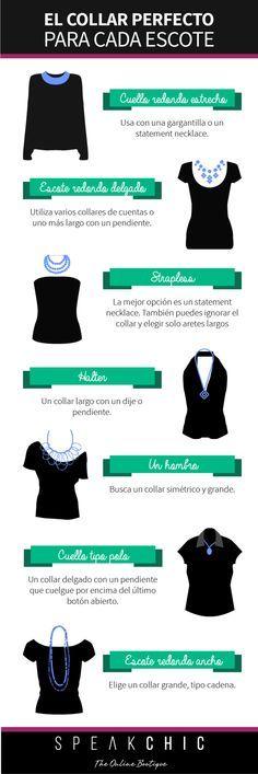 El collar perfecto para cada escote | SPEAK CHIC | Accesorios de Marca Originales