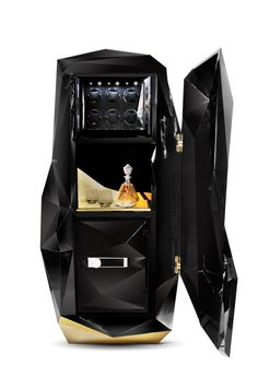 Diamond safe box , luxury safe for your private treasures. Perfect for your modern interiors. Handmade piece with luxury details. #safebox #luxury #furniture #design #safe #diamond  #black