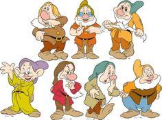 Cücelerim Goofy Disney, Disney Plush, Disney Art, Seven Drawfs Costume, Dwarf Costume, 7 Dwarfs, Seven Dwarfs, Snow White Characters, Disney Characters