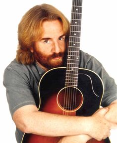 Andrew Gold and his beloved guitar. #andrewgold