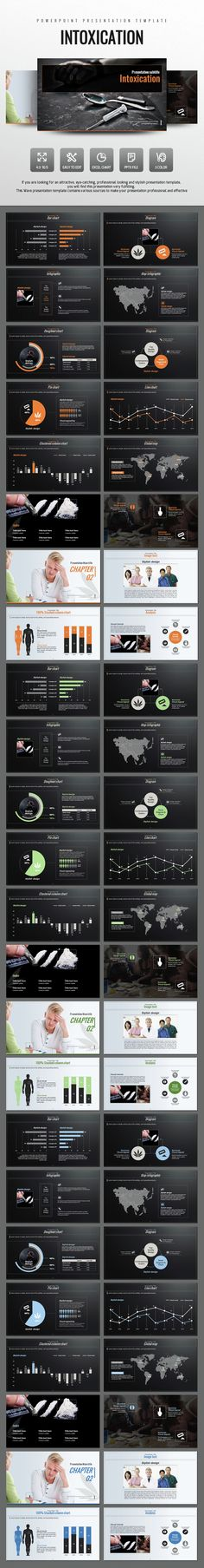 Intoxication PowerPoint Template. Download here: http://graphicriver.net/item/intoxication-powerpoint/15019167?ref=ksioks