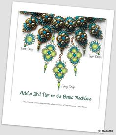 Hindia Beading Pattern by Heather Collin