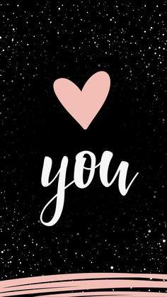 Love You wallpaper backgrounds Phone Wallpaper Quotes, Emoji Wallpaper, Heart Wallpaper, Wallpaper Iphone Cute, Aesthetic Iphone Wallpaper, Galaxy Wallpaper, Cellphone Wallpaper, Lock Screen Wallpaper, Disney Wallpaper