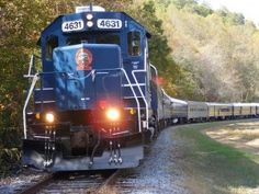 @DanielleMckenrick, we should do this! Take a ride with the Blue Ridge Scenic Railway, a vintage train that travels from Blue Ridge to McCaysville, and Copperhill, Tenn (starts at the historic depot in downtown Blue Ridge, Georgia, US)