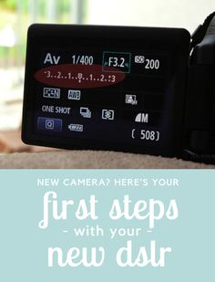 Got a new camera and not sure where to start? Here's a photography tutorial for beginners to help you get started, with a guide to your very first steps with a DSLR.