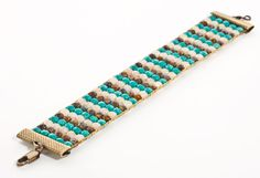 how to bead on a loom