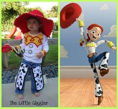 Disfraz Toy Story Cowgirl Disfraces Caseros Para Niños ee30efaff42