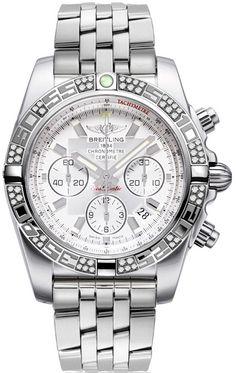 """Breitling Chronomat 44 AB0110AA/G684-375A: """"AB0110AA/G684-375A NEW BREITLING CHRONOMAT 44 MEN'S WATCH FOR SALE… #Watches #Watch #LuxuryWatch"""