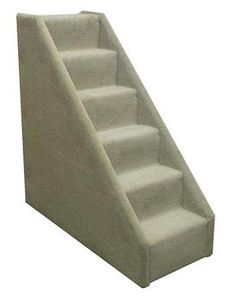 Bear's Stairs Mini Carpeted 6 Step Pet Stair Color: Beige