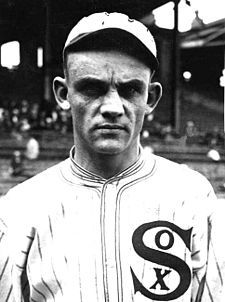 "Charles Arnold ""Chick"" Gandil (1888-1970), of the 1919 Chicago Black Sox scandal"