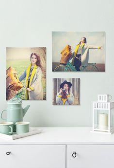 Mit Wunderschönen Wandgestaltung Ideen Von Fotokasten. Ob Leinwand, Poster