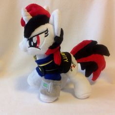 Blackjack Plushie from Fallout: Equestria (PH) by RufousCat.deviantart.com on @DeviantArt