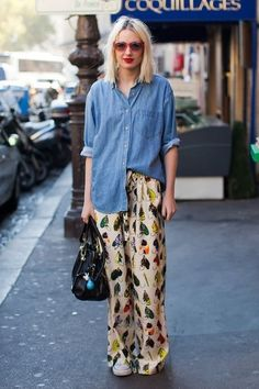 Do The Half Tuck - What To Wear To Brunch All Summer - Photos