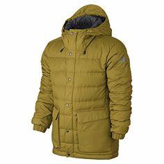 Nike SB 550 Down Snowboard Jacket - Mens (L, Peat Moss/Anthracite, warm/grey) Warm Grey, Nike Sb, Snowboard, Nike Jacket, Winter Jackets, Peat Moss, Retail, Men, Ideas
