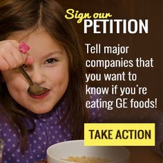 PETITION: Take action! You have a right to know what's in your food!!! And they have an obligation to tell you. No excuses.