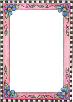 Bordes Decorativos Para Decorar Gratis A Color Pictures Bordes, dibujos, gafetes, mandiles y ...
