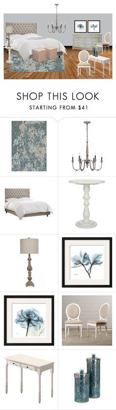 """Chantelle MB"" by tara-scott-johnson on Polyvore featuring interior, interiors, interior design, home, home decor, interior decorating, Blue Area, Home Decorators Collection and Safavieh"