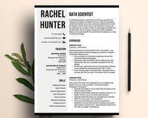 Professional Resume Template  Resume For Word  Curriculum Vitae