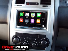 Chrysler 300C with Apple CarPlay installed by DriveSound.