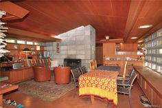 Buying a Frank Lloyd Wright original would be like trying to buy a priceless museum artifact.On Vashon you can live in a house inspired by his ideas for $374,000. Vashon Island, Usonian, Organic Architecture, Frank Lloyd Wright, Mid-century Modern, Cottage, Museum, Inspired, The Originals