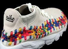 Nike Footscape Woven Chukka Rainbow