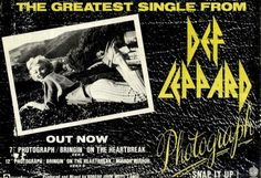 Def Leppard Promotional Ad