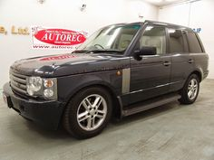 Japanese vehicles to the world: 19673A1N7 2004 Landrover Rangerover HSE RHD 4WD fo...