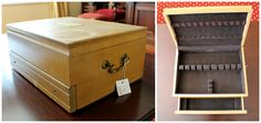Upcycling an Old Cutlery Box Into a New Jewelry Box | HGTV Design Blog – Design Happens