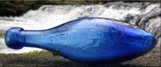 """Blue Hybrid"", Bottledigging UK: GEORGE ELAND 6/OUNCE BLUE HAMILTON ESTABLISHED 1837yr"