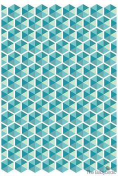 Love this geometric pattern... it's like hundreds of greetabls ;)