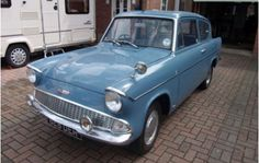 Not just a vintage car, this Ford Anglia is described as being in 'immaculate' condition. Ford Anglia, Ebay Watches, Get One, Vintage Cars, Motors, Dream Cars, British, Vans, Trucks
