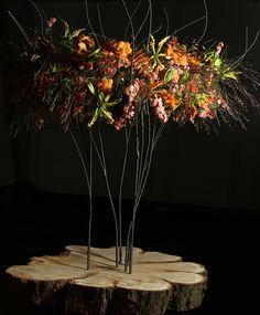Arrangement - Roxanne van Schellen @ VBW Flowercup '14. Foto - Ron de Vries