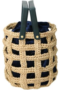 Diy Crochet And Knitting, Crochet Tote, Crochet Purses, Crochet Accessories, Bag Accessories, Diy Handbag, Macrame Bag, Jute Bags, Knitted Bags