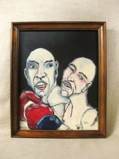 Male Portrait , Painting , Athletes , Boxers , Sports , Wil Shepherd , Fighting , Sports Figures , Male Athletes , Boxing ,Men Boxing, Sport