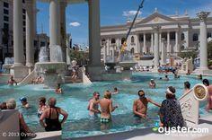 Caesars palace pool!