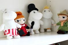 We were talking about Moomin tonight. They are just the best.