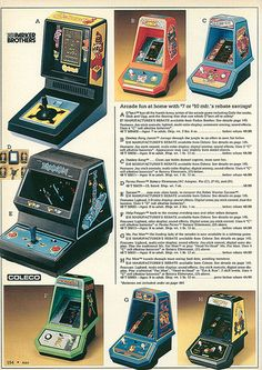 Parker Bros Coleco 1983 ad!! I soo wanted that Pacman one!